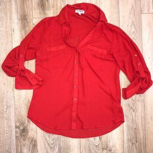 Red portofino shirt